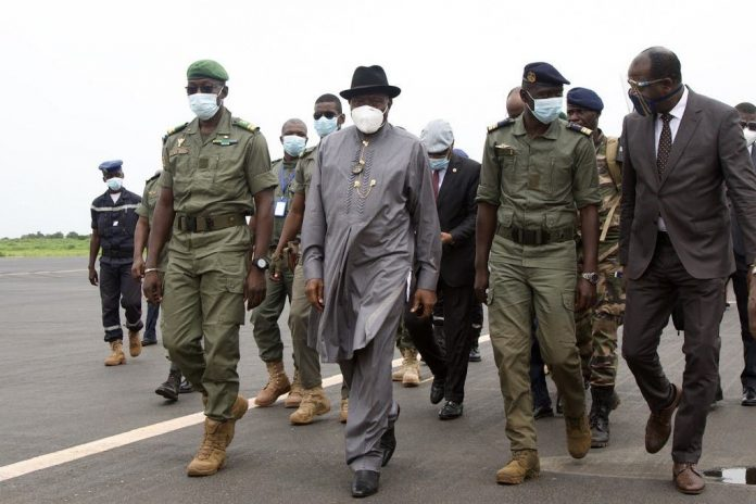 ECOWAS Condemns Mali Coup, Sends Jonathan On Assessment