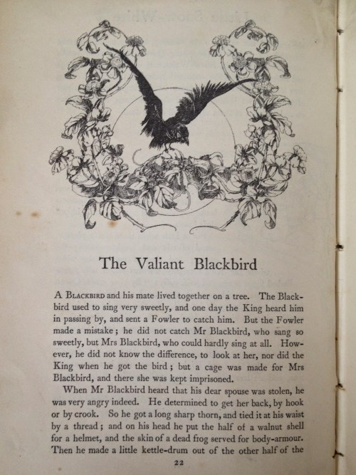 William Canton The Valiant Blackbird