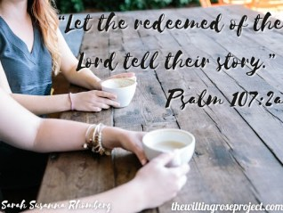 A story worth sharing verse quote