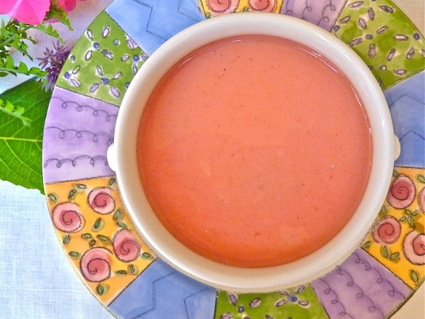 Chilled Plum Soup