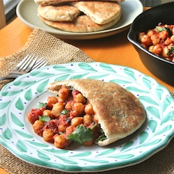 Chickpea Pockets The Wimpy Vegetarian