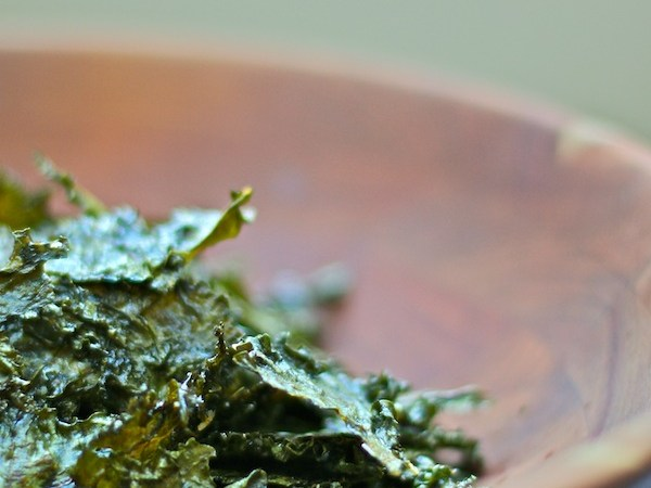 Kale Chips : The Wimpy Vegetarian