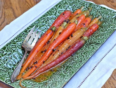 Tangerine-Ginger Glazed Carrots