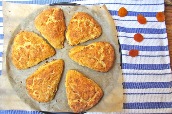 Honey Apricot Scones - slider