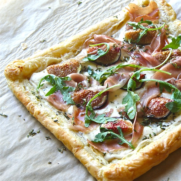 Fig, Ricotta, and Honey Tart : The Wimpy Vegetarian