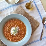 Tuscan Bean Soup with Rosemary Olive Oil : The Wimpy Vegetarian