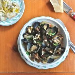 Steamed Mussels in White Wine and Fennel : The Wimpy Vegetarian
