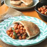 legumes, chickpea, vegan, healthy dinner, moroccan chickpea pita pockets recipe