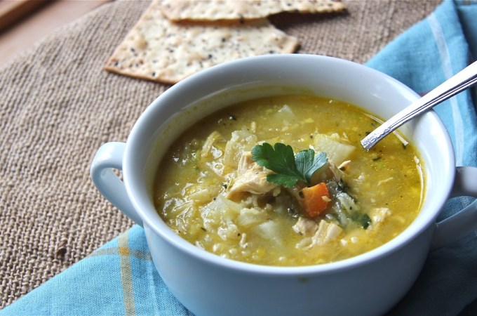 Vegetable / Chicken and Rice Peasant Soup