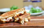 Roasted Tomato Grilled Cheese Sandwich with Harissa Mayonnaise, the Wimpy Vegetarian, recipe