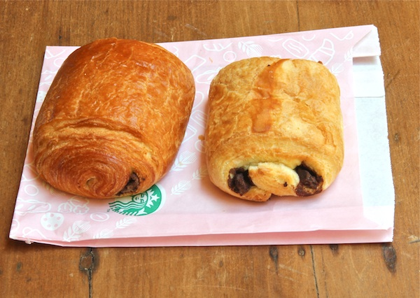 Starbucks Chocolate Croissants