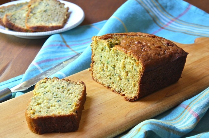 Rustic Zucchini Bread with Brown Rice