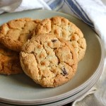 peanut butter cookies, old fashioned