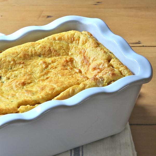 gluten free, pumpkin pie spoon bread