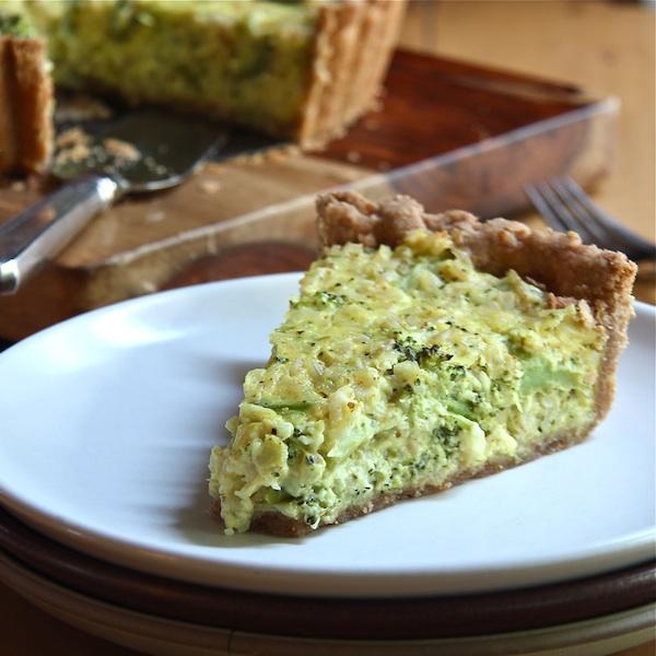 broccoli cheddar quinoa casserole 600 - The Wimpy Vegetarian