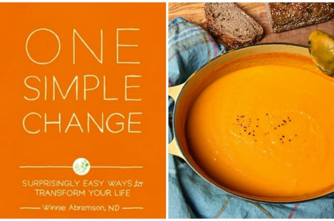 One Simple Change (and Silky Carrot Soup)