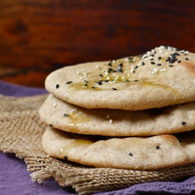 pita bread, turkish bread, The Wimpy Vegetarian