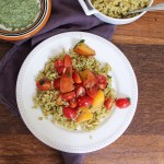 green mint chutney rice
