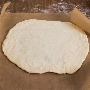 How to make mummy calzones, vegetarian.