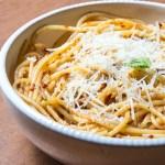 Sun-Dried Tomato Pesto (in Pasta)