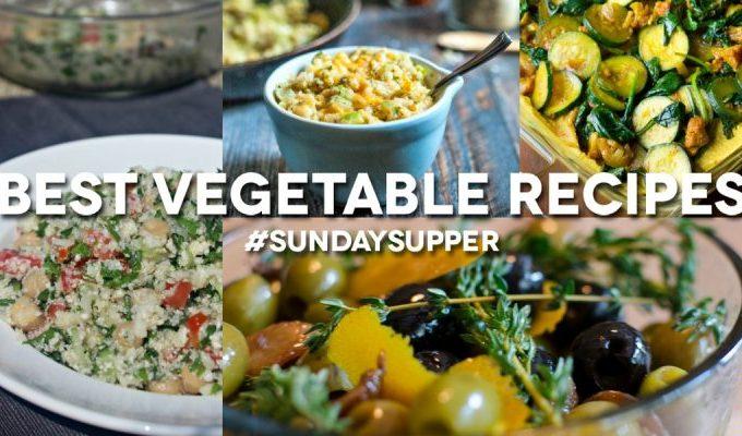Recipes for World Vegetarian Day: Join us for #SundaySupper