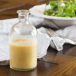 Make this Pear Vinaigrette in 10 minutes with just one pear, pear vinegar (or apple cider vinegar), mustard, and a good olive oil. It will make your salad shine! #CleanEating #HealthyEating #PearsRecipes #EasyRecipes #PearVinaigrette #vinaigrette #SaladDressing