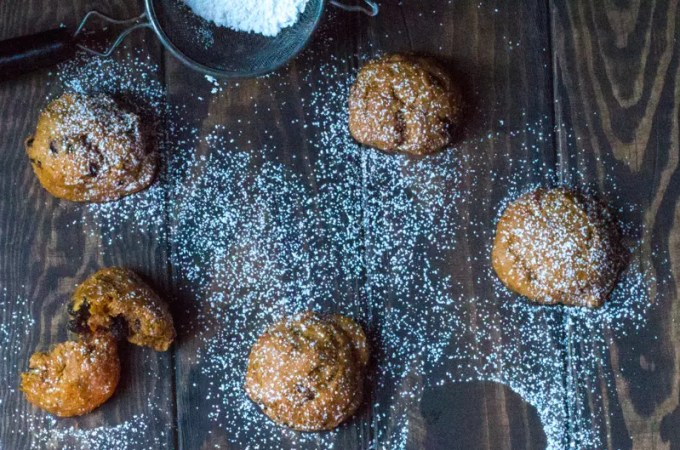 Spiced Persimmon Cookies with Dried Figs | #SundaySupper