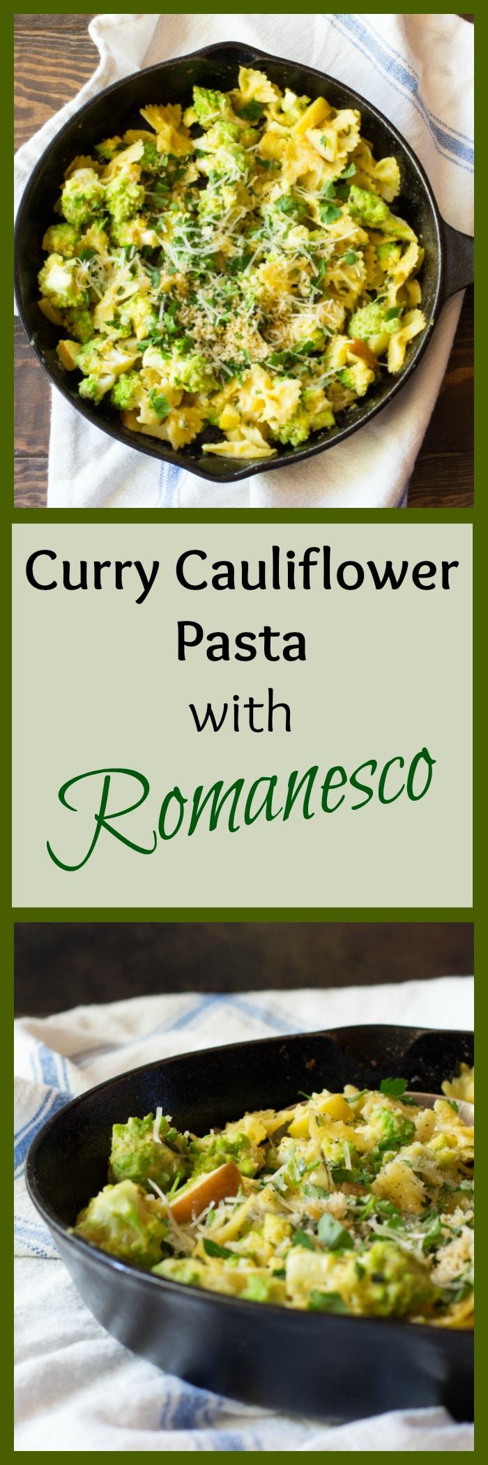 3 easy ways to make romanesco -- cauliflower & broccoli's healthy veggie cousin PLUS a vegan pasta recipe for a healthy vegetarian dinner.