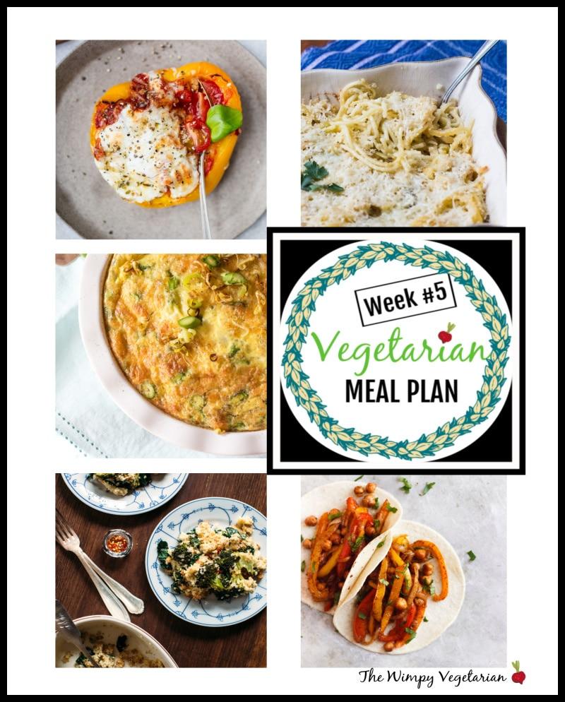 Weekly Vegetarian Meal Plan + Tips for Omnivores // Week 5