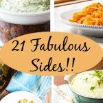 For your vegetarian Thanksgiving, 21 vegetable side dishes that are easy to make the day of your feast, or can be made ahead.