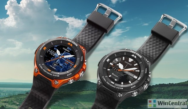 Casio's WSD-F10 and WSD-F20 Smart Outdoor Watch