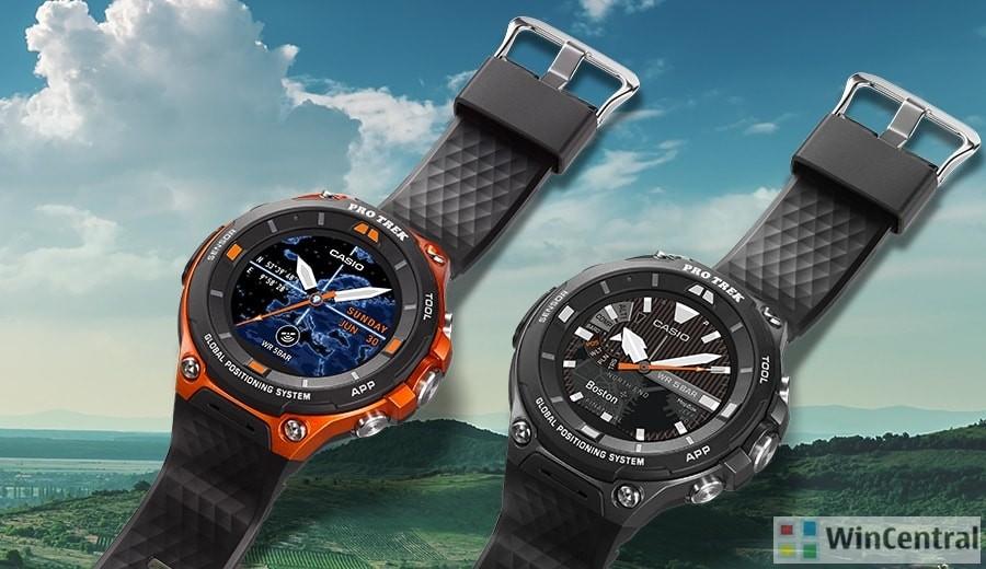 Casio's WSD-F10 and WSD-F20 Smart Outdoor Watch
