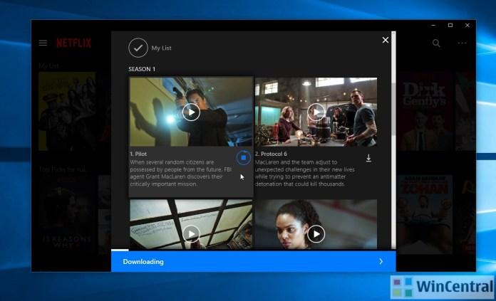 Netflix Offline on Windows 10