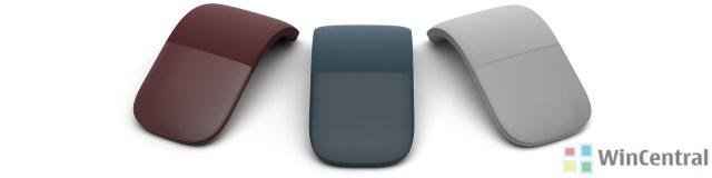 Surface Arc Mouse Colors