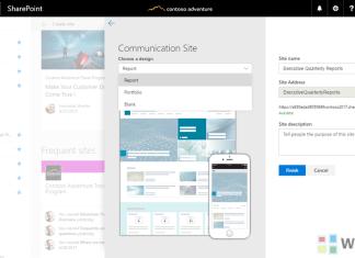 SharePoint communication sites