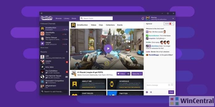 Twitch desktop