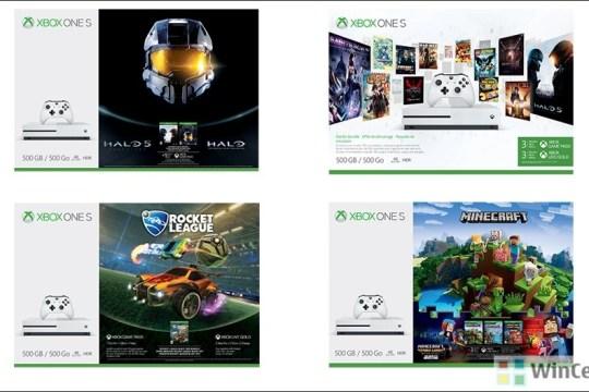 Xbox One S Bundles