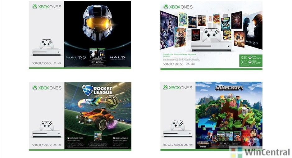 Xbox One S Bundles