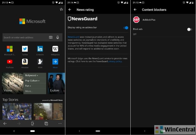 Chromium based Microsoft Edge for Android now available