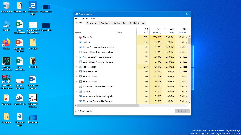 Khắc Phục Windows thường xuyên bị treo hoặc ngừng phản hồi