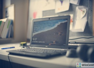 Dell Laptop running Windows 10