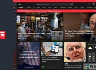 Microsoft News app Windows 10