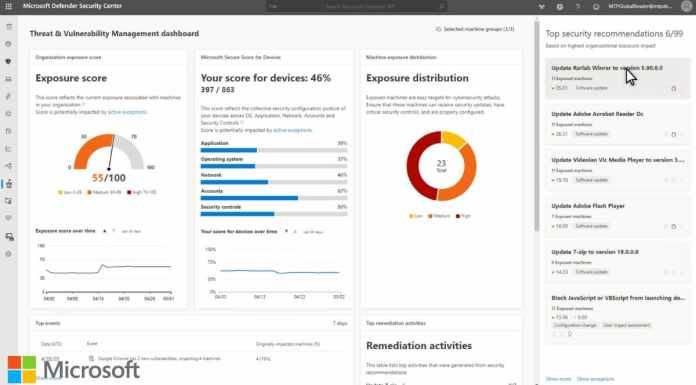 Microsoft Defender Security Center