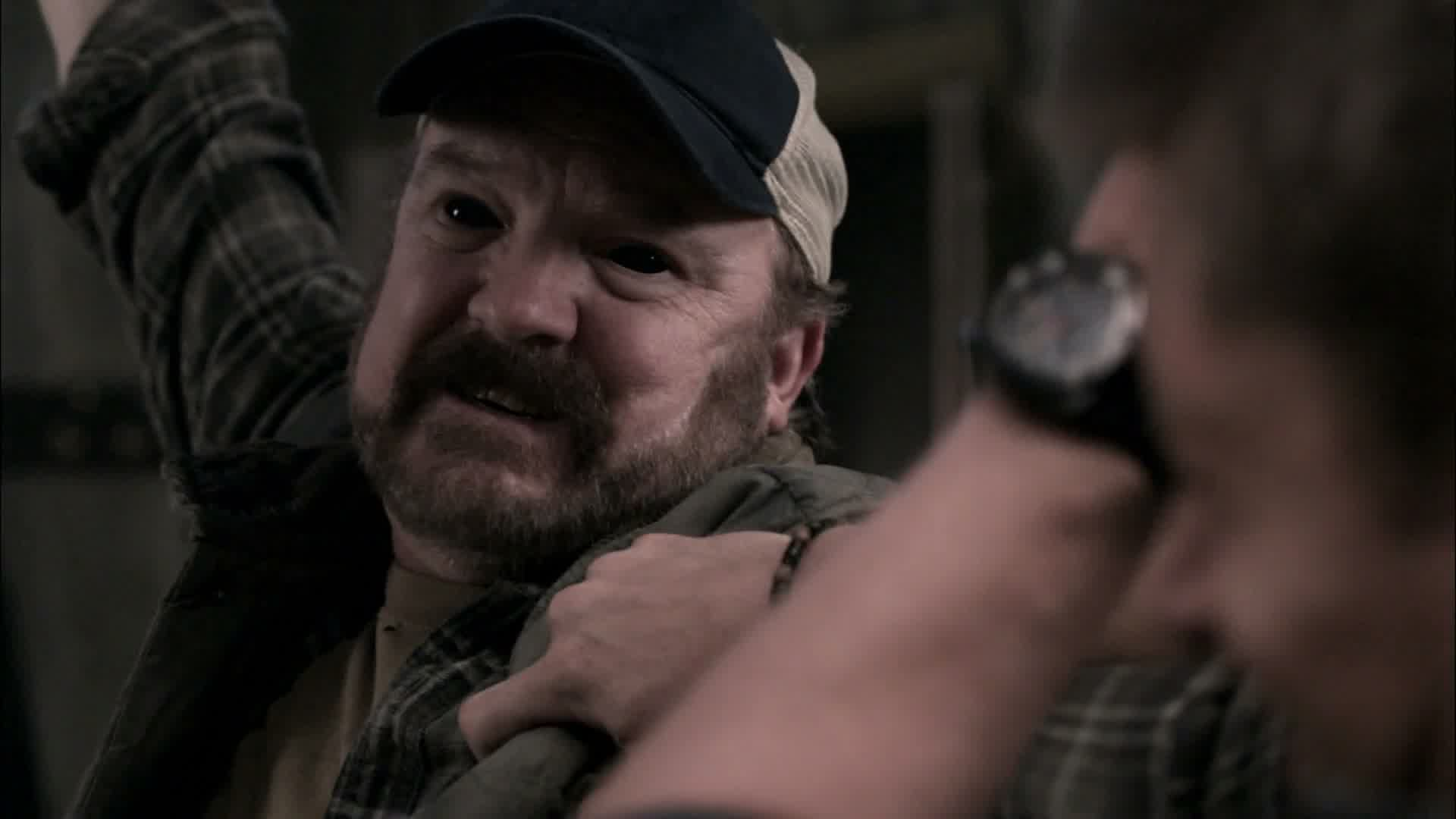 Image result for supernatural khan worm bobby singer possessed