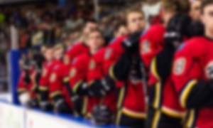 NHL Boxscore for Vegas Golden Knights at Calgary Flames. Final Score: 7-2 Calgary. November 19, 2018.