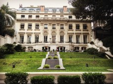 Palacio Duhau - the old wing of the hotel.