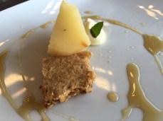 Dessert at Bodega Casarena.