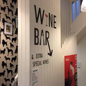 Wine bar downstairs