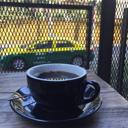 Coffee on the terrace
