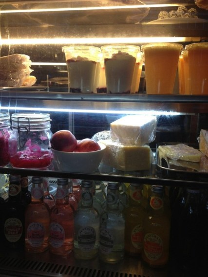 Juices and yogurt